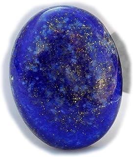 The Best Jewellery Lapis Lazuli cabochon, 32Ct Lapis Lazuli Gemstone, Oval Shape Cabochon For Jewelry Making (25x19x7mm) S...