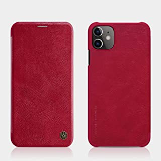 Nillkin Apple For iphone 11 Qin Leather Case - Red
