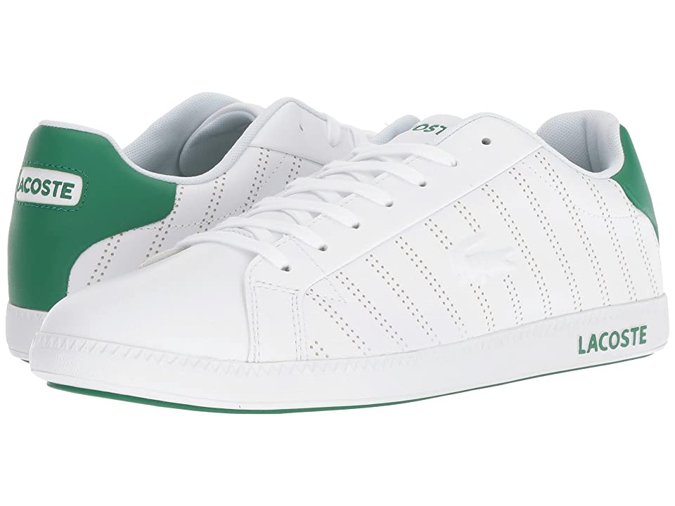 Lacoste Graduate 318 1 (White/Green) Men