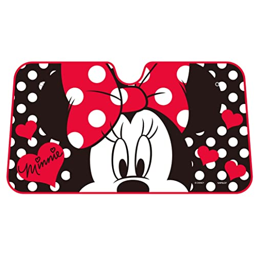 Disney Dot Minnie Mouse Windshield Front Car Sun Shade df9f3efe83f