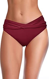 swimsuit ruched bottoms