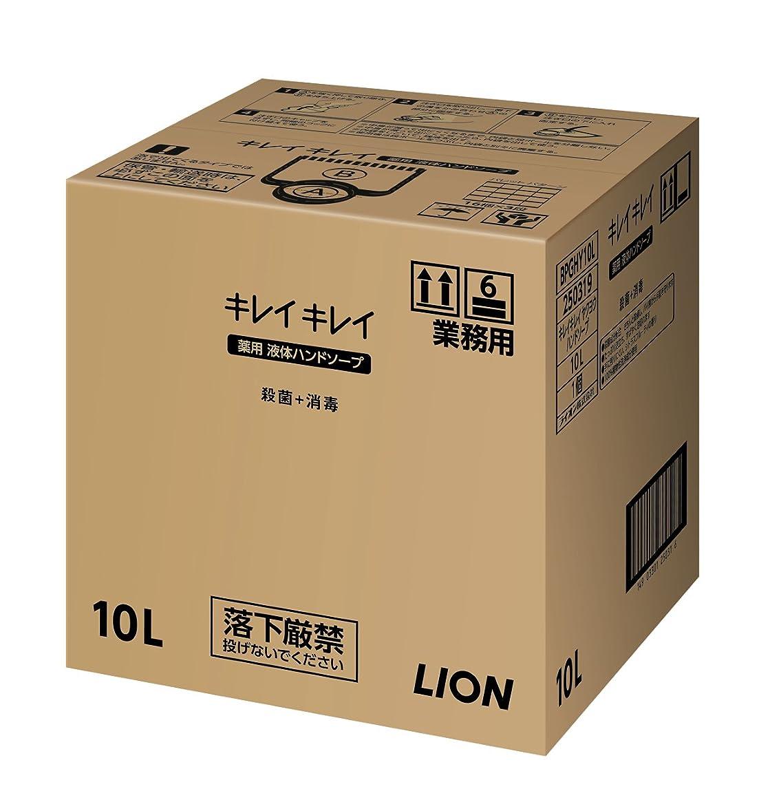 議会厄介なマリン【大容量】キレイキレイ薬用ハンドソープ10L
