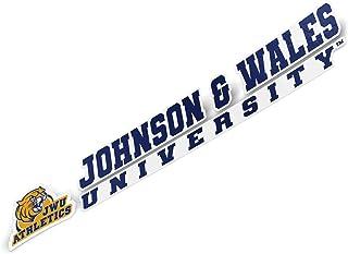 Johnson & Wales University JWU Wildcats NCAA Name Logo Vinyl Decal Laptop Water Bottle Car Scrapbook (8 Inch Sticker)