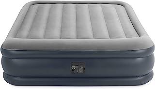 comprar comparacion Intex 64136 - Colchón hinchable Dura-Beam Standard Deluxe Pillow 152 x 203 x 42 cm