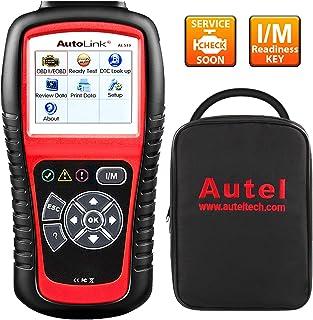 Autel AL519 AutoLink Enhanced OBD ll Scan tool with Mode 6 Fault Code Reader EOBD