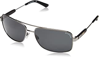 Burberry Sunglasses BE 3074 100387 Gunmetal 63mm