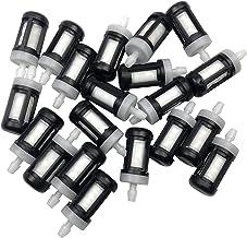 Floreer 20 Vervangende brandstoffilter 3/16 inch voor Stihl FS45 FS46 FS55R FS55R FS86 FS90R SH55 SH56 SH86 kettingzaag
