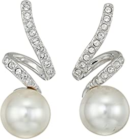 Swarovski - Gabriella Pearl Pierced Earrings