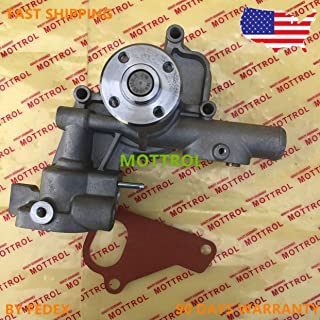 129508-42001, YM129508-42001 3TNV88 4TNV88 Water pump 129004-42001 w/pipes Takeuchi later TB135 TB145