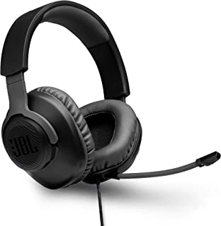 JBL Quantum 100 by Harman Wired Over-Ear Gaming Headset with Detachable Mic for PC, Mobile, Laptop, PS4, Xbox, Nintendo Sw...