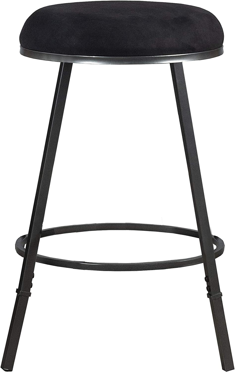 Hillsdale Furniture Sanders Adjustable Black Bar Free Shipping New Pewter New product! New type Stool