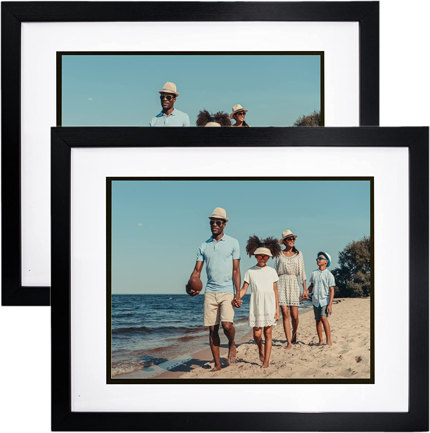 GraduatePro 11x14 Document Max 87% OFF Photo online shop Wood for Pictures 8.5x11 Frame