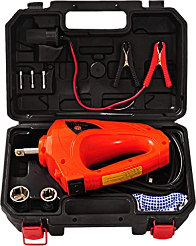 E-HEELP Electric Impact Wrench 12V 480N.M Emergency Tool Kit for Car Tire Changes