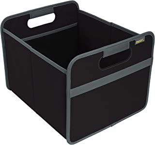 Classic Boîte pliante en polyester avec poignées Noir lave/uni 32 x 37 x 27,5 cm Lavable en machine Pour vacances d'été pl...