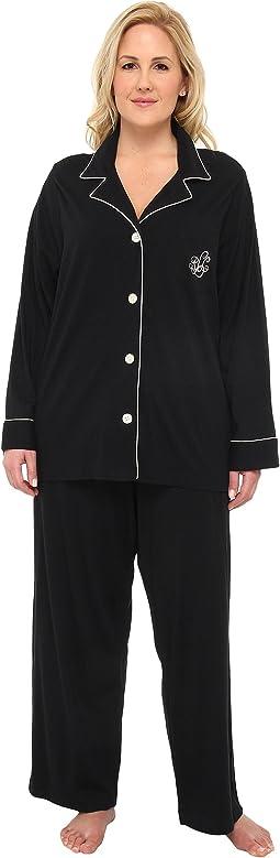 LAUREN Ralph Lauren - Hammond Knits Pajama Set Plus Size