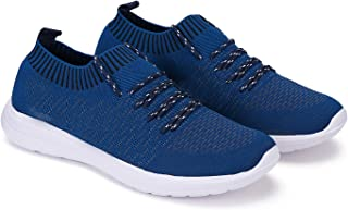 Bersache Party Casual Shoes, Outdoor Boots,Best Rates, Canvas Shoes,Sneakers Shoes, Loafers Shoes, Shoes, Trekking Shoes, Sports Shoes,Comfortable for Men's/Boy's (Blue-3068)