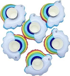 Best rainbow cloud pool float Reviews