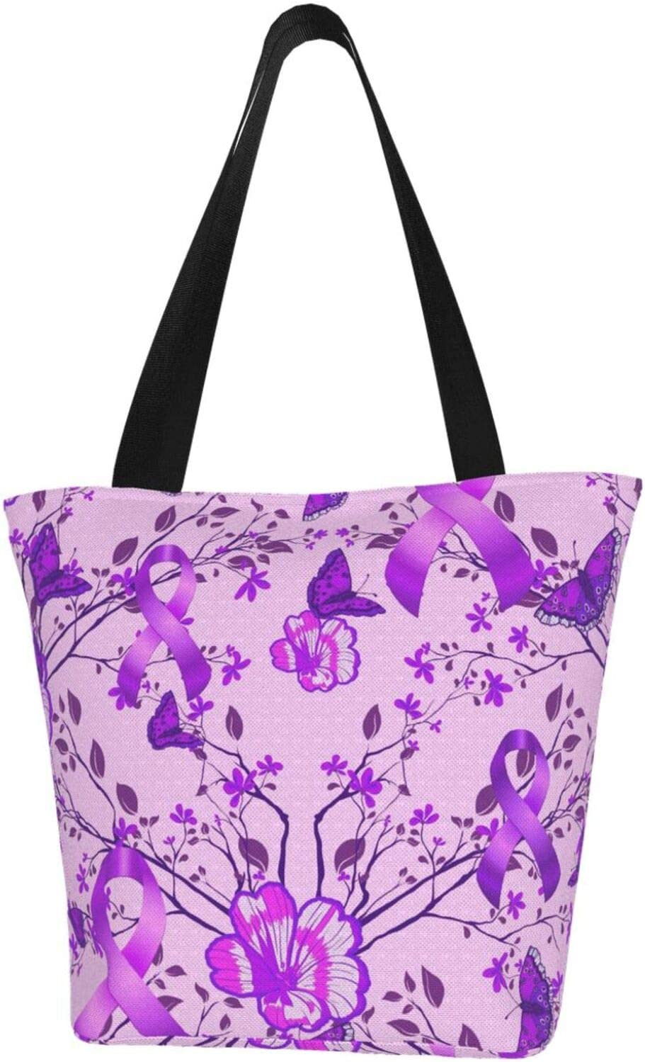 AKLID Purple Autistic Butterfly Extra Canv Large Water Resistant San Diego Mall Cash special price