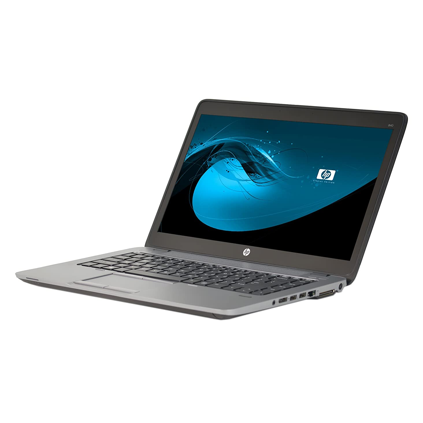 HP Elitebook 840 G1 14in Laptop, Core i5-4200U 1.6GHz, 8GB RAM, 128GB Solid State Drive, Win10P64, NO_CAM, NO_Touch (Renewed)