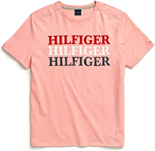 Tommy Hilfiger Men's Adaptive T Shirt with Magnetic...