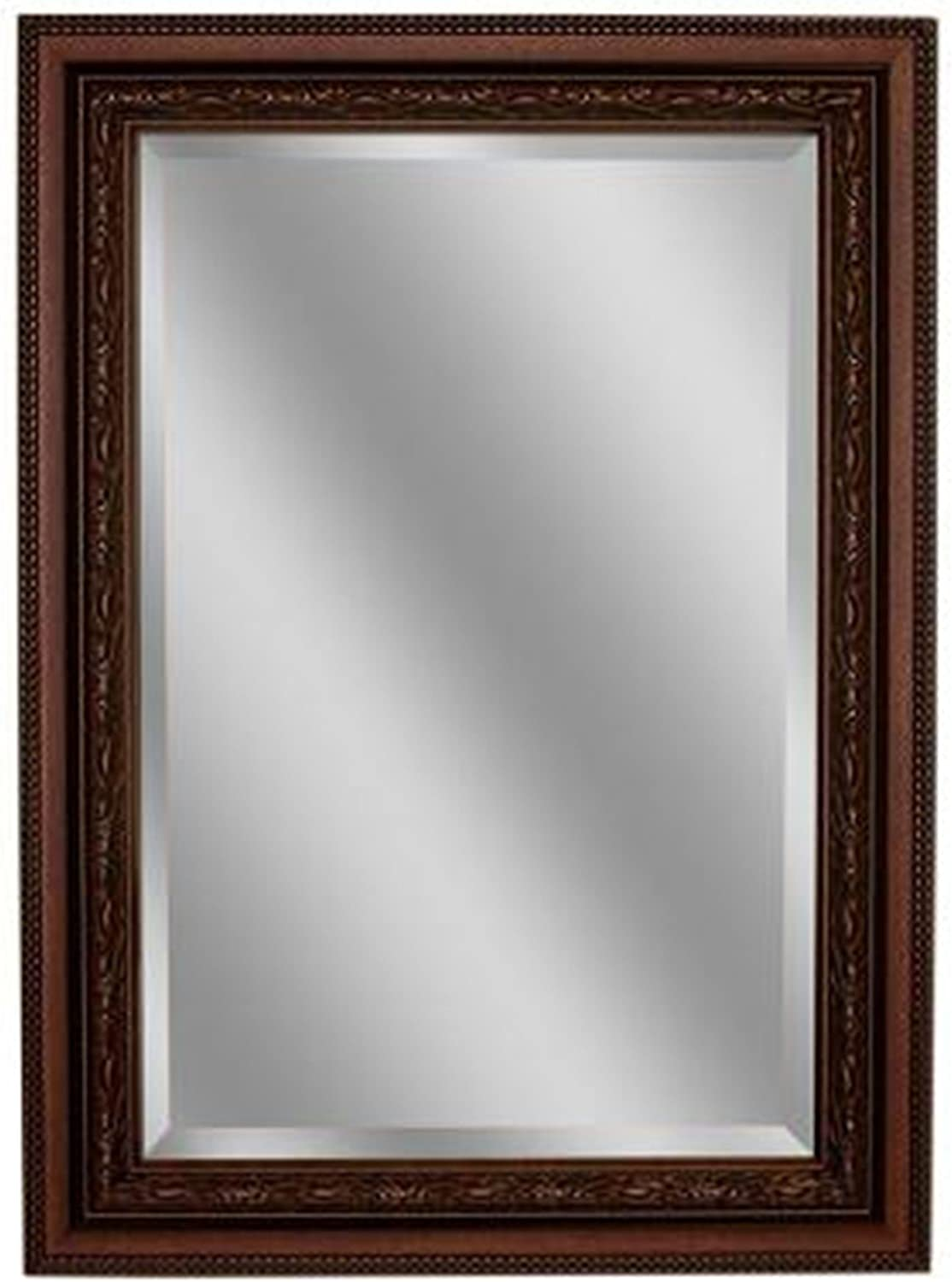 Headwest Addyson Single Framed Wall Mirror in Copper, 30 inches by 36 inches