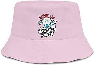 100% Cotton Packable Hawaii Hispanic News Summer Travel Bucket Beach Fishing Sun Hat