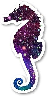 """ملصق فرس البحر ملصق لامع لغالاكسي - عبوة من قطعتين - ملصقات الكمبيوتر المحمول - 2. 5"""" ملصق الفينيل - الكمبيوتر المحمول وال..."""