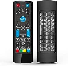 GOWELL Bluetooth Remote específicamente compatible con Amazon Fire TV y Fire TV Stick Control remoto de aire con teclado Air Mouse, compatible con Windows / Raspberry pi 3- (No Alexa)