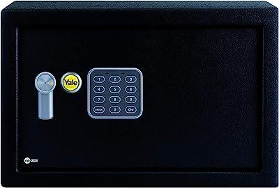 Yale Security YEC/250/DB1 Yale Medium Alarmed Value Safe, Black