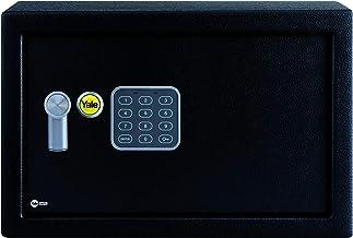 Yale YSV/250/DB1 Medium Value Safe, Digital Keypad, LED Light Indicators, 15 mm Steel Locking Bolts, Emergency Override Ke...