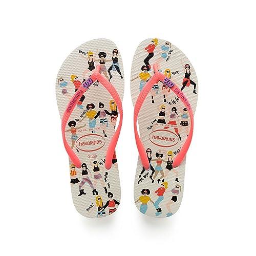 2629b8a93fa2f1 Havaianas Women s Slim Cool Flip Flops