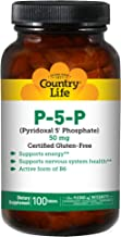Country Life P-5-P (Pyridoxal Phosphate) 50 mg, 100-Count