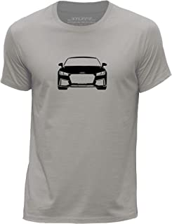 Stuff4 Men's Round Neck T-Shirt/Stencil Car Art/TT RS