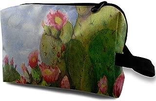 Bolsa de Maquillaje Imprimir Cactus Flower Desert Print of ...
