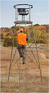 Guide Gear 15' Woodsman Rotating Tripod Deer Stand - coolthings.us