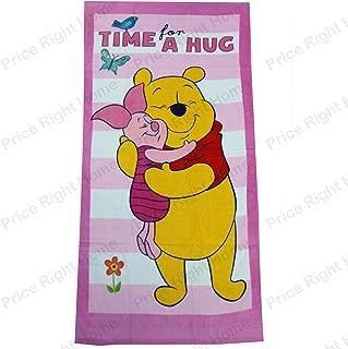 70 x 140 cm 100/% Cotone Telo Mare Winnie the Pooh Asciugamano Smile Asciugamano a Motivi per Bambini