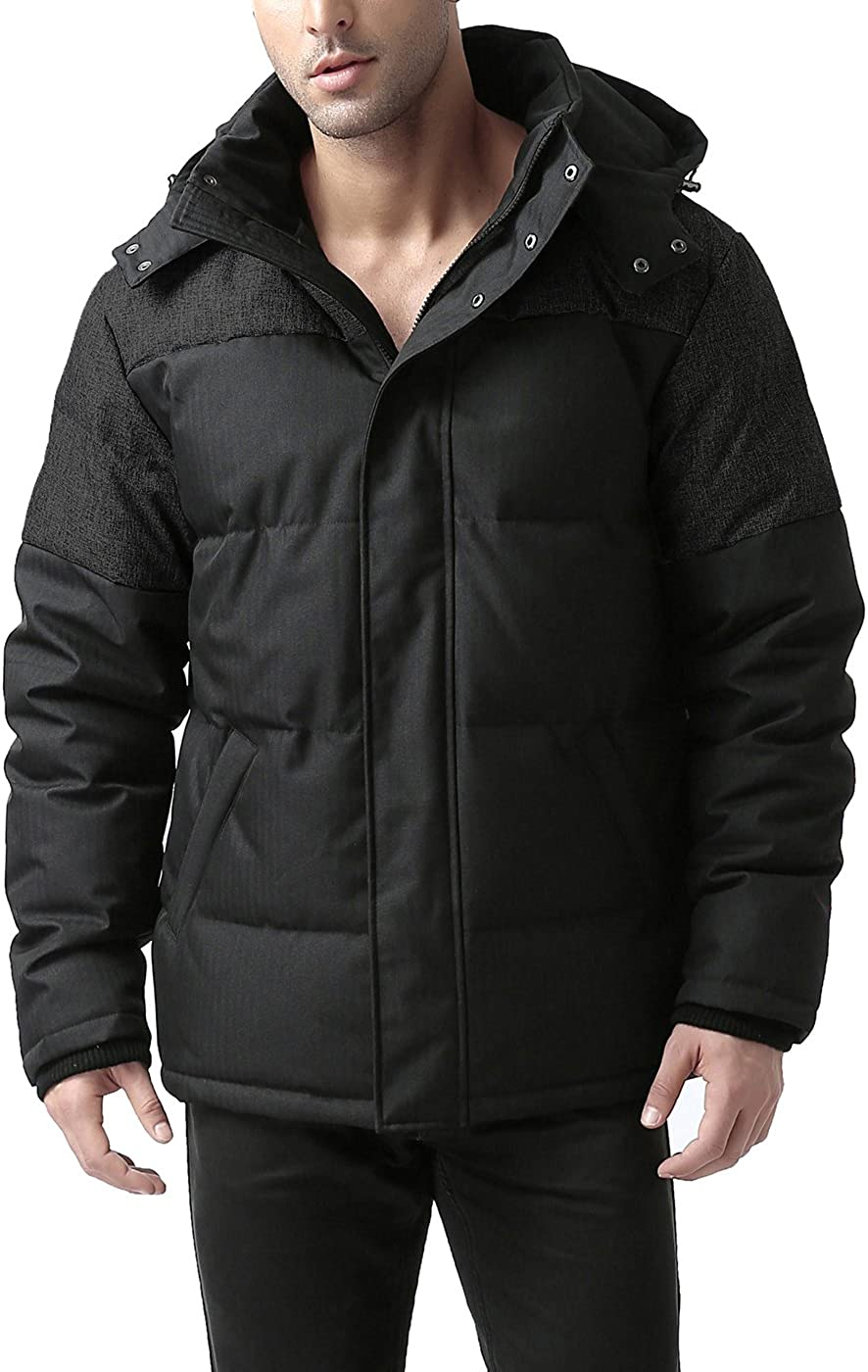 BGSD Men's Ethan Waterproof Down Jacket (Regular & Big and Tall)