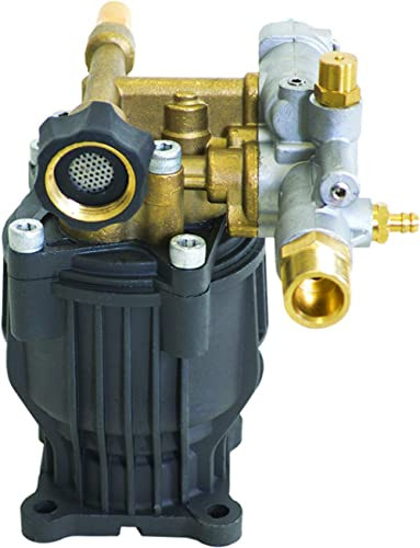 OEM Technologies 90029 Axial Cam Horizontal Pressure Replacement Pump 3100 PSI @ 2.5 GPM with Brass Head and PowerBoo...