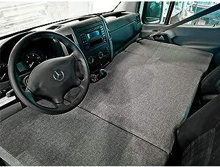 KFoam.es Colchón Plegable Cama Delantera Camper para Mercedes Sprinter Color Gris (2006-2017)
