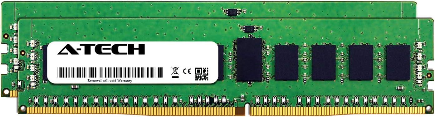 A-Tech 32GB Kit (2 x 16GB) for Dell Precision 5820 (Intel Xeon Models) - DDR4 PC4-23400 2933Mhz ECC Registered RDIMM 2Rx8 - Server Specific Memory Ram (AT316775SRV-X2R7)