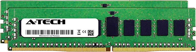 A-Tech 16GB Kit (2 x 8GB) for Dell PowerEdge R730 - DDR4 PC4-21300 2666Mhz ECC Registered RDIMM 2Rx8 - Server Specific Memory Ram (AT316643SRV-X2R12)