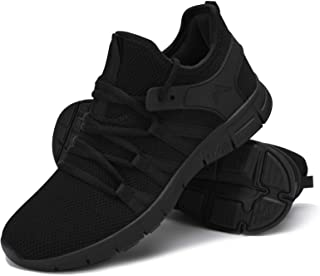 Running Shoes Lightweight Tennis Shoes Non Slip Resistant Gym Workout Shoes Breathable Mesh Sneakers