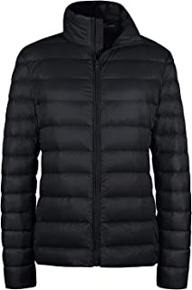 Women's Packable Ultra Light Weight Short Down Jacket