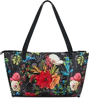 ZOOEASS Women Colorful Large Tote Shoulder Handbag Bag PU Leather Travel Shoulder