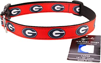 product image for All Star Dogs Georgia Bulldogs Ribbon Dog Collar