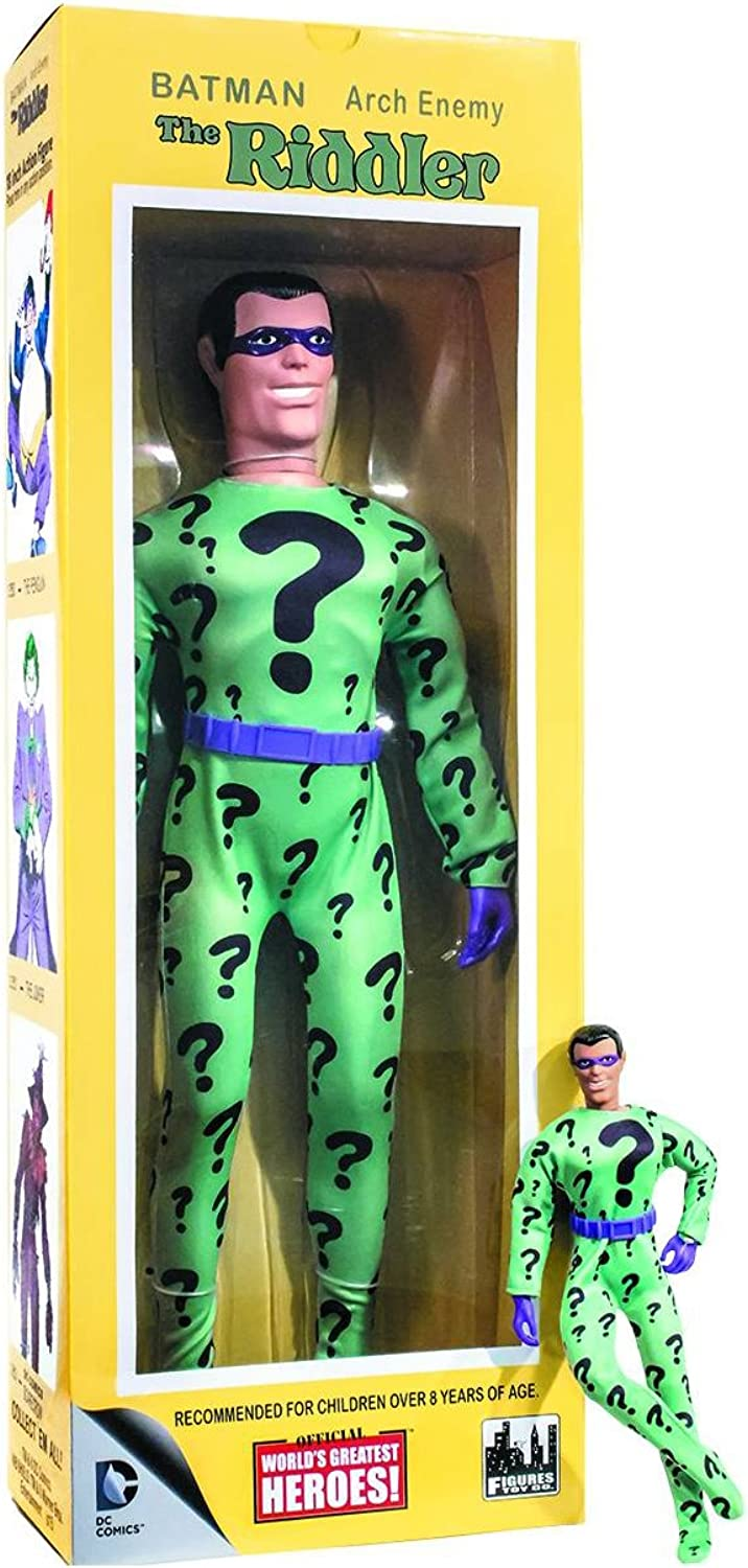 DC Comics Worlds Greatest Heroes  The Riddler 18 Inch Action Figure