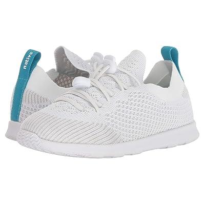Native Kids Shoes AP Mercury Liteknit Toggle (Little Kid/Big Kid) (Shell White/Shell White) Kids Shoes