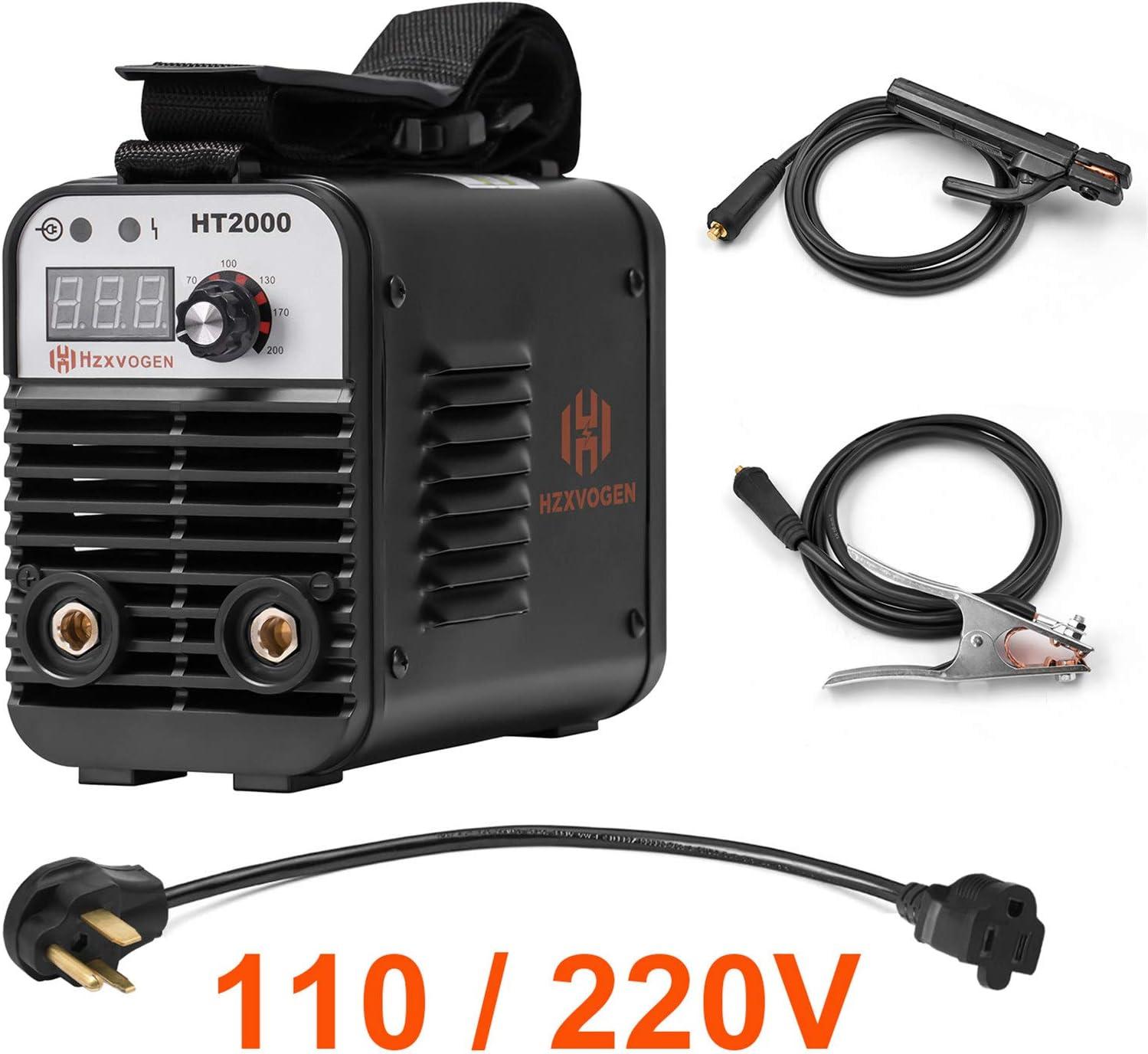 HZXVOGEN 110/220V Dual Voltage Welder