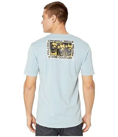 Volcom CJ Collins Short Sleeve Tee (Cool Blue) Men