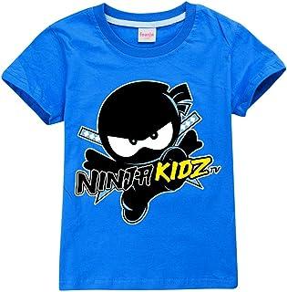 2021 Ninja Jongens T-shirts Zomer Kids Kleding Ninjago T-shirts Kinderen Polyester Top Tees voor Ninja Kidz Kostuum Meisje...